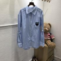 プラダ 最新トレンドコーデおすすめ PRADA 2019-2020秋冬のファッション シャツ 機能性が良くブランド新品-1
