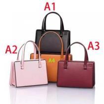 ロエベPostal Small Bag ガーネット ハンドバッグ309.56.W85手頃な価格に新商品 Loewe コピーA4サイズ収納可トートバッグ-1