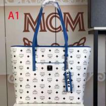 限定価格MCM コピーAnya Visetos coated canvas shopperトートバッグ 激安 エムシーエム コピー 収納性が良く通勤通学-1