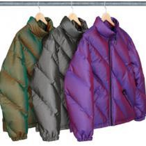 19AW WEEK11 Iridescent Puffy Jacketシュプリーム ジャケットコピー 新作 カジュアル快適防寒性抜群 ブランド激安通販-1