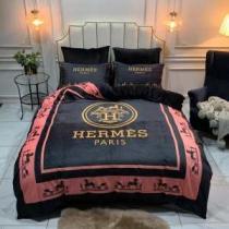 エルメス HERMES 寝具4点セット 大ほっこりとした雰囲気が素敵 2020秋冬定番コーデ-1