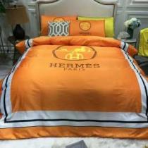 2020秋冬定番コーデ エルメス HERMES 寝具4点セット 洗練された印象を最大限に引き出す-1