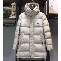 アルマーニ ダウンジャケット メンズ 落ち着いたコーデの大定番 ARMANI ホワイト スーパーコピー 通勤通学 ブランド 最高品質-1