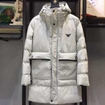 ARMANI ダウンジャケット メンズ 大人ライクなスタイルが魅力 アルマーニ コピー ホワイト トレンドの主役 相性抜群 最安値-1