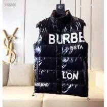 バーバリー ダウンベスト メンズ 個性と大人らしさをプラス BURBERRY ジャケット コピー ブラック ストリート コーデ 最低価格-1