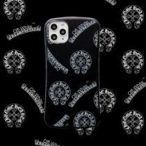 クロムハーツ iphone11 11pro 11ProMax スマホケース ブランド コピー ロゴプリント2020/20 人気ランキング CHROME HEARTS-1