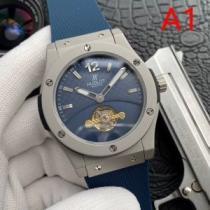 2020最新入荷HUBLOTウブロ 時計 メンズ 安い 高級ブランド 腕時計 ビジネスマン 人気 安いスーパーコピーランキング 新作-1