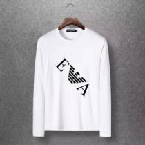 多色可選 アルマーニ ARMANI 長袖Tシャツ 2020年秋に買うべき 暖かく冬らしいコーデに変身-1