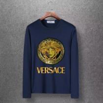 ヴェルサーチ VERSACE 4色可選  長袖Tシャツ 2020秋冬の最旬コーデ術 かわいい秋の新作が登場-1