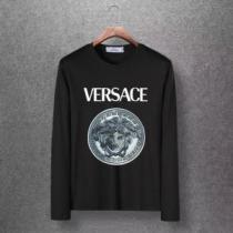 4色可選 長袖Tシャツ 洗練された印象を最大限に引き出す 2020秋冬定番コーデ ヴェルサーチ VERSACE-1