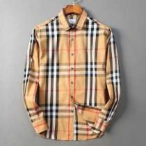 2色可選 シャツ 2020秋冬定番コーデ 秋冬ファッションに合わせる バーバリー BURBERRY-1