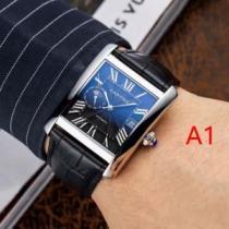 カルティエ CARTIER 腕時計 4色選択可 国内入手困難2020秋冬新作 都会的な雰囲気をキープする秋冬新作-1