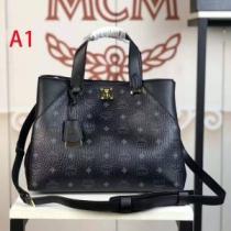 ハンドバッグ 4色可選 普段使いやお仕事用としても使える 2020秋冬定番コーデ エムシーエム MCM-1
