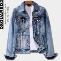 デニムジャケット素晴らしいギフトとしての秋冬新作 DSQUARED2 ディースクエアード 2020秋冬人気色おすすめ-1