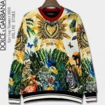 2020秋に注目したい プルオーバーパーカー 即発送秋冬最新作 Dolce&Gabbana ドルチェ&ガッバーナ-1