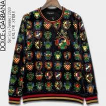 冬の爆買い定番新作  Dolce&Gabbana プルオーバーパーカー ドルチェ&ガッバーナ 2020秋冬最重要アイテム-1