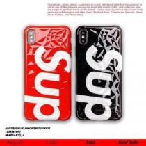 Supreme スマホケース 人気 気品あるデザインが魅力 シュプリーム 通販 コピー ブラック レッド トレンド 質感 ロゴ お買い得-1