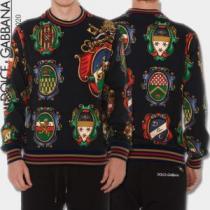 ドルチェ&ガッバーナ 2020?2020秋冬流行色紹介 プルオーバーパーカー Dolce&Gabbanaこの冬買うべきTOP1を公開-1