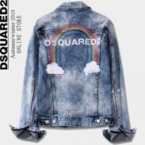 デニムジャケット永遠の定番アイテム  DSQUARED2 ディースクエアード 着こなしに素敵なエッセンス-1