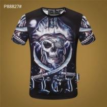 半袖Tシャツ かろやかなデザインを楽しめる フィリッププレイン PHILIPP PLEIN コーデに大人の雰囲気をプラス-1