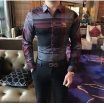 格好がつくBURBERRYシャツ サイズ感 優しい着心地2020春夏ランキング バーバリー コピー ビジネスシャツ 通販-1