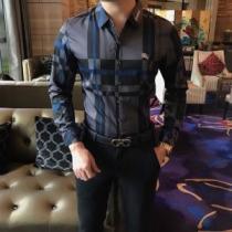 清潔感抜群BURBERRYチェック シャツ 2020春夏バーバリー スーパーコピー 高級ファッションリラックス感にシャツ-1