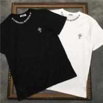 半袖Tシャツ 大人こそ似合う柄が魅力 2色可選 クロムハーツ 春夏ならではの軽やかさが楽しめる CHROME HEARTS-1