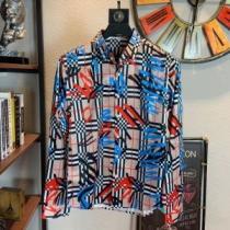 BURBERRY 風シャツ バーバリー コピー 販売2020春夏手の届きやすい価格海外人気入手困難ストリートカジュアルシャツ-1