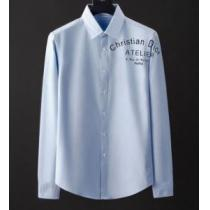 2020最新ディオールシャツメンズサイズ感 肌触りの良い Diorコピー高級ファッションカジュアルエレガントな逸品-1