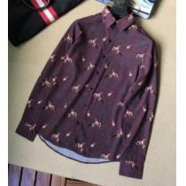 2020年最新限定HERMESシャツ コーデ 使い勝手 プリント エルメス スーパー コピー n 級ビジネスカジュアルシャツ-1