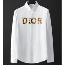 シャツ 通販 DIOR 質感ある着こなしに最適 メンズ ブラック ホワイト カジュアル ディオール スーパーコピー ロゴ 格安-1