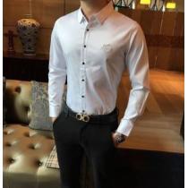 HERMESコピー ビジネスシャツ 2020SSコレクション エルメス 服 メンズ 通気性の高い高級ファッション人気色-1