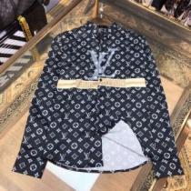 2020春夏の流行色Louis Vuitton コピーヴィトン シャツ メンズ エレガントなコーデ使いやすいカジュアルシャツ人気-1