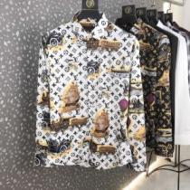Louis Vuitton タペストリーDNAシャツ コーデ 春夏2020年も大豊作 ヴィトン コピー激安モノグラム優しい着心地-1