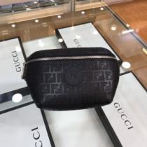 抜群の機能性FENDIコピー ブラック ナッパレザー ベルトバッグ 使いやすいフェンデイ ウエストポーチ2020人気-1