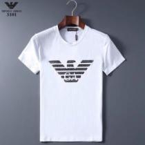 多色可選 価格も嬉しいアイテム 半袖Tシャツ 手頃価格でカブり知らず アルマーニ ARMANI-1