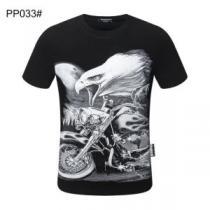 多色可選 やはり人気ブランド フィリッププレイン PHILIPP PLEIN お値段もお求めやすい 半袖Tシャツ-1