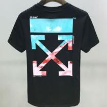 2色可選 着こなしを楽しむ 半袖Tシャツ 有名ブランドです Off-White 限定品が登場 オフホワイト-1