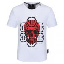 2色可選 半袖Tシャツ 大幅割引価格 フィリッププレイン 今年の春トレンド PHILIPP PLEIN 驚きのプライス-1