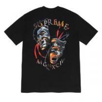 2色可選 シュプリームファッショニスタを中心に新品が非常に人気  SUPREME 2020春新作 半袖Tシャツ-1