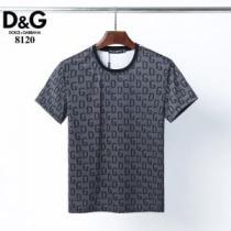 ドルチェ&ガッバーナ ファッションに取り入れよう Dolce&Gabbana やはり人気ブランド 半袖Tシャツ-1