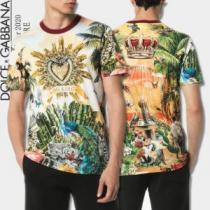 大人気のブランドの新作 半袖Tシャツ 普段のファッション ドルチェ&ガッバーナ Dolce&Gabbana-1