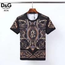 2色可選 差をつけたい人にもおすすめ 半袖Tシャツ 今季の主力おすすめ ドルチェ&ガッバーナ Dolce&Gabbana-1