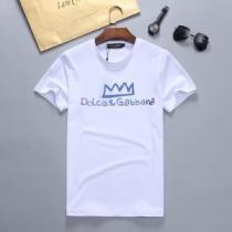 2020SS人気 半袖Tシャツ 2色可選 最先端のスタイル ドルチェ&ガッバーナ Dolce&Gabbana-1