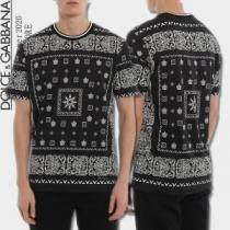 世界共通のアイテム 半袖Tシャツ 海外限定ライン ドルチェ&ガッバーナ Dolce&Gabbana  試してみよう-1