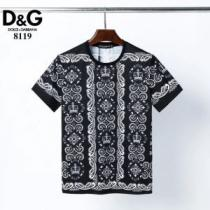 シンプルなファッション ドルチェ&ガッバーナ Dolce&Gabbana  2020モデル 半袖Tシャツ-1