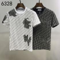 2色可選 半袖Tシャツ 普段使いにも最適なアイテム ディオール ストリート界隈でも人気 DIOR-1