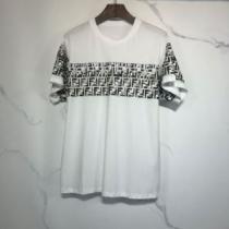 ランキング1位 2色可選  フェンディ FENDI 愛らしい春の新作 半袖Tシャツ 2020話題の商品-1