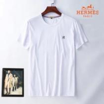 エルメス どのアイテムも手頃な価格で HERMES 3色可選 ファッショニスタを中心に新品が非常に人気 半袖Tシャツ-1