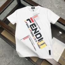 フェンディ高級感のある素材  3色可選 FENDI 一番手に入れやすい 半袖Tシャツ 海外でも人気なブランド-1